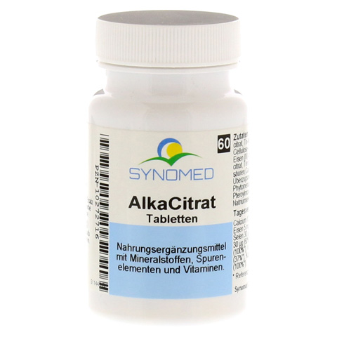 ALKACITRAT Tabletten 60 St�ck