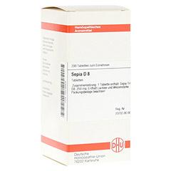 SEPIA D 8 Tabletten 200 St�ck N2