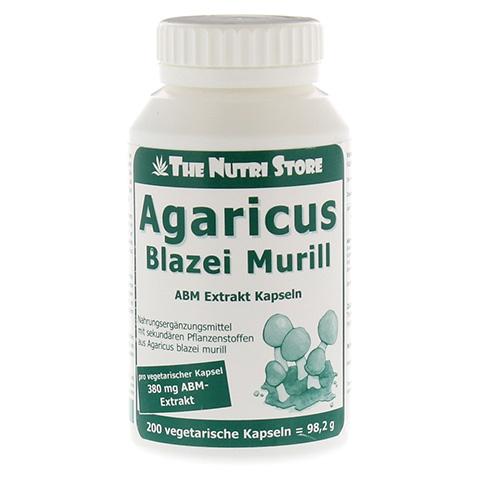 AGARICUS BLAZEI Murill Extrakt vegetar.Kapseln 200 St�ck