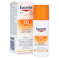 EUCERIN Sun Fluid Anti-Age LSF 50 50 Milliliter