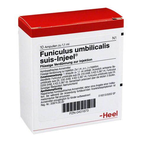 FUNICULUS UMBILICALIS suis Injeel Ampullen 10 Stück N1