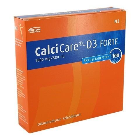 CALCICARE D3 forte Brausetabletten 100 Stück