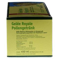 GELEE ROYAL Trinkampullen 30x15 Milliliter - Linke Seite