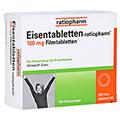 Eisentabletten-ratiopharm 100mg 100 St�ck N3