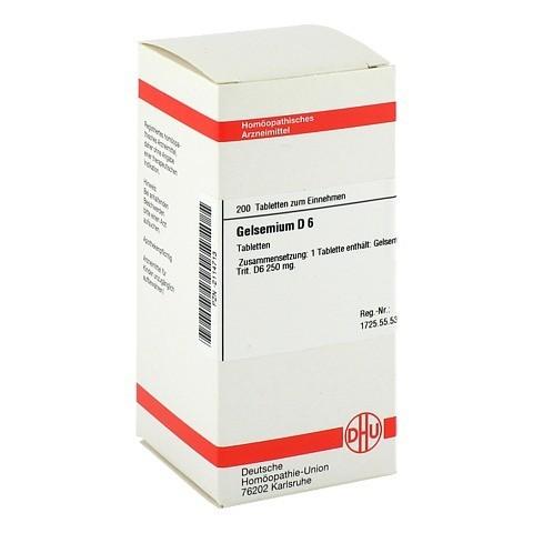GELSEMIUM D 6 Tabletten 200 St�ck N2