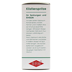 KLISTIERSPRITZE Gr.2 birnf.m.Kan.90 g 1 Stück - Linke Seite