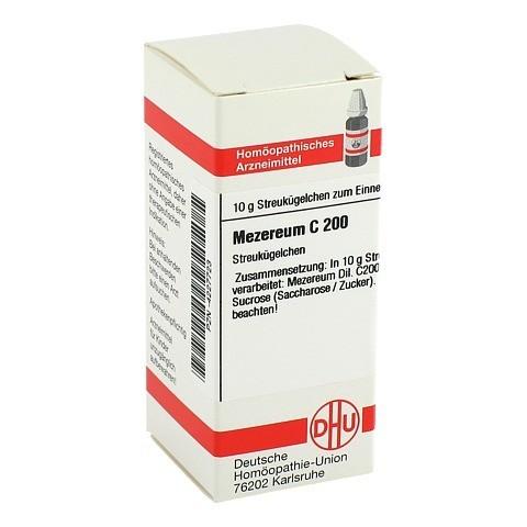 MEZEREUM C 200 Globuli 10 Gramm N1
