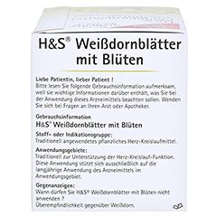 H&S Weißdornblätter mit Blüten 20 Stück - Rechte Seite