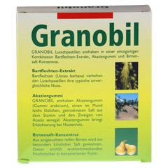 GRANOBIL Grandel Pastillen 100 Stück - Rückseite