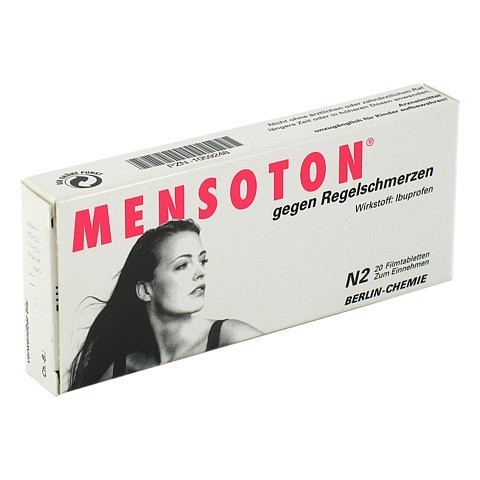 MENSOTON gegen Regelschmerzen 20 Stück