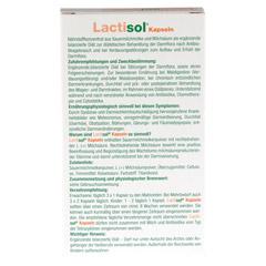 LACTISOL Kapseln 30 St�ck - R�ckseite