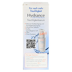 AVENE Hydrance Optimale Feuchtigkeitsserum 30 Milliliter - Rückseite