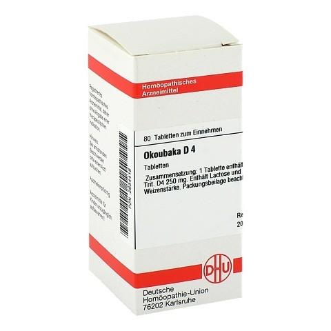 OKOUBAKA D 4 Tabletten 80 St�ck N1