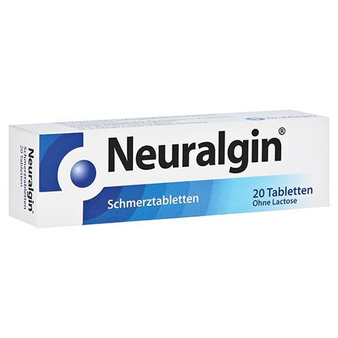 Neuralgin Schmerztabletten 250mg/200mg/50mg 20 St�ck