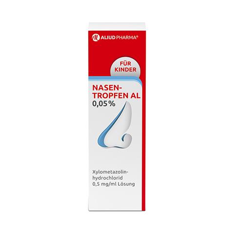 Nasentropfen AL 0,05% 10 Milliliter N1