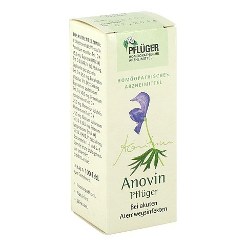 ANOVIN Pflüger Tabletten 100 Stück N1