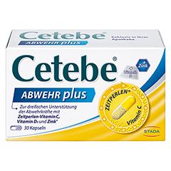 CETEBE ABWEHR plus Vitamin C+Vitamin D3+Zink Kaps. 30 Stück