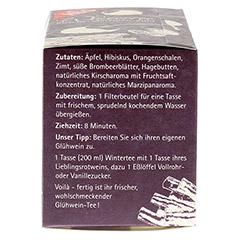 H&S Wintertee Kirsche-Marzipan-Zimt Filterbeutel 20 Stück - Linke Seite