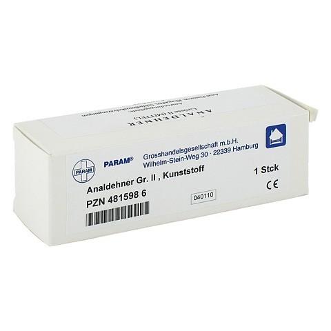 ANALDEHNER Kunststoff Gr.2 1 Stück