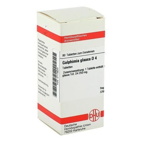 GALPHIMIA GLAUCA D 4 Tabletten 80 St�ck N1