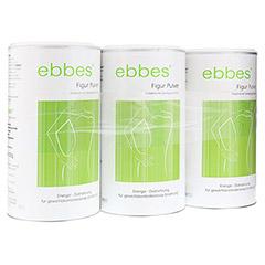 EBBES Figur Diät Drink Pulver 3x500 Gramm