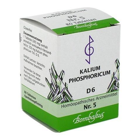BIOCHEMIE 5 Kalium phosphoricum D 6 Tabletten 80 Stück N1