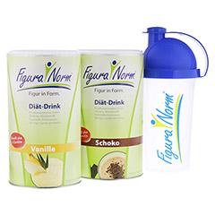 FiguraNorm Vanille & Schoko + gratis Shaker