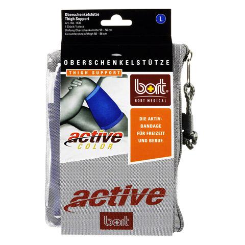 BORT ActiveColor Oberschenkelstütze large blau 1 Stück