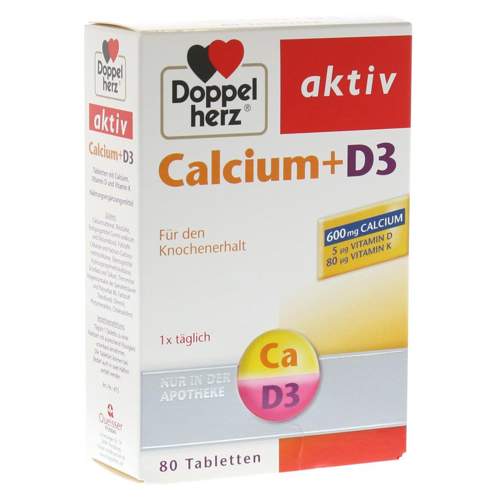 doppelherz calcium d3 tabletten 80 st ck online bestellen. Black Bedroom Furniture Sets. Home Design Ideas