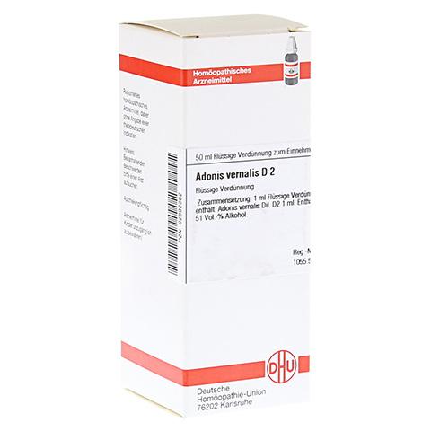 ADONIS VERNALIS D 2 Dilution 50 Milliliter N1