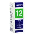 BIOCHEMIE Globuli 12 Calcium sulfuricum D 6 15 Gramm N1