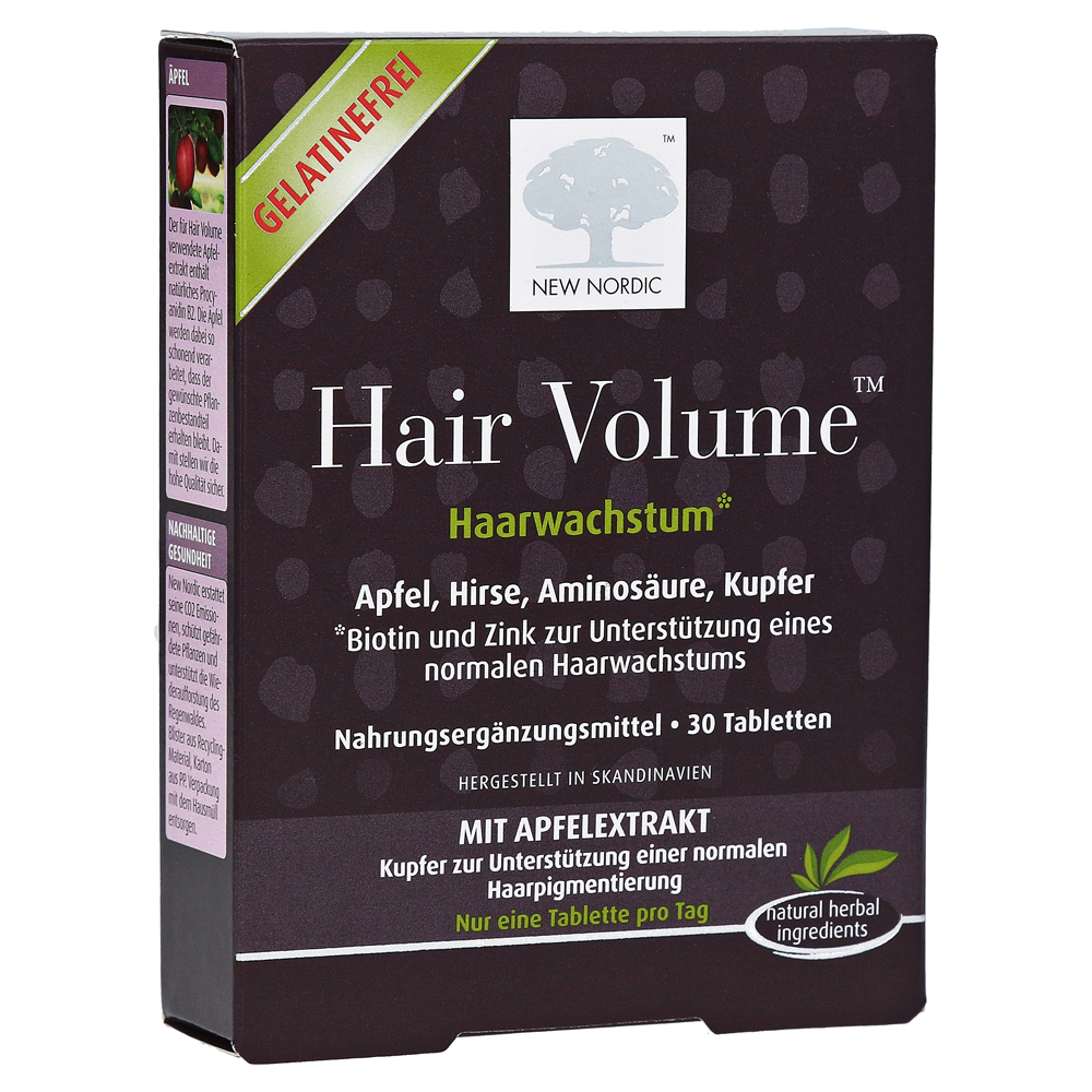 HAIR VOLUME Tabletten 30 Stück online bestellen - medpex ...