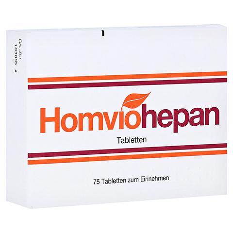 HOMVIOHEPAN Tabletten 75 Stück N1