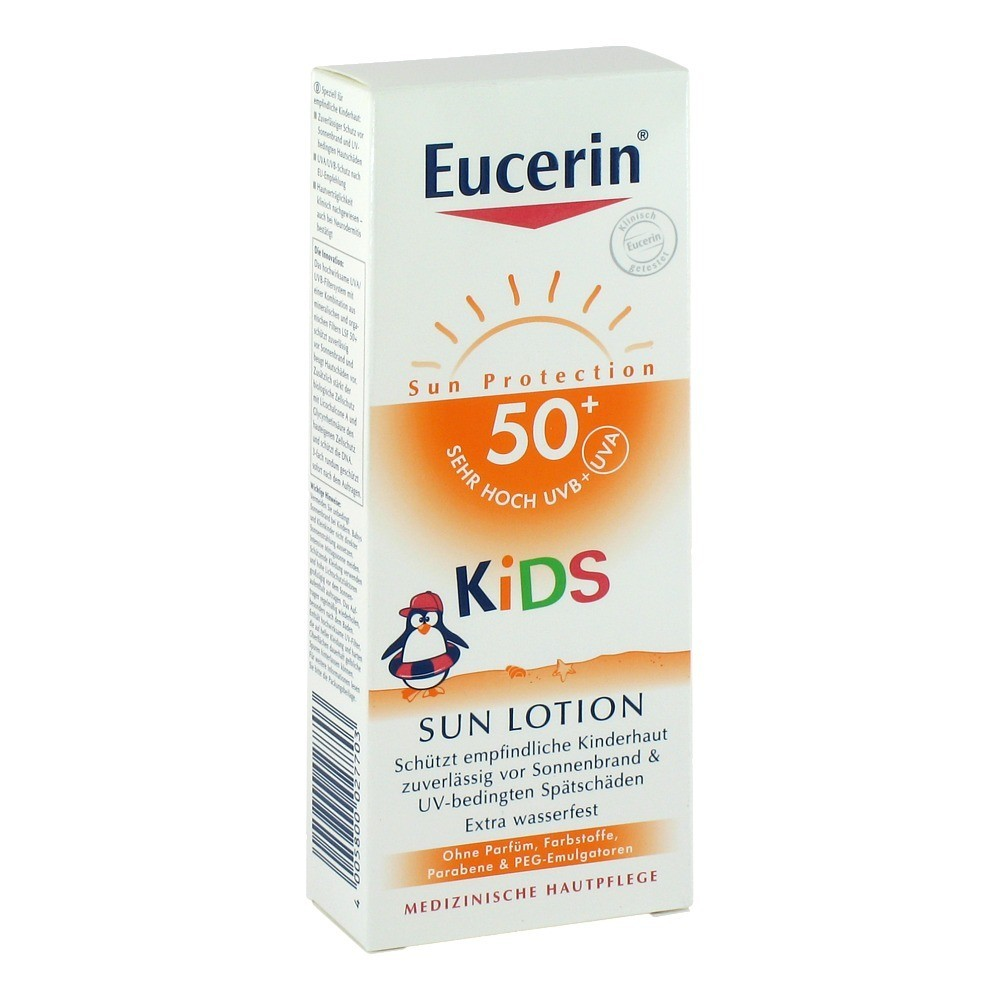 eucerin sun kids lotion 50 150 milliliter. Black Bedroom Furniture Sets. Home Design Ideas