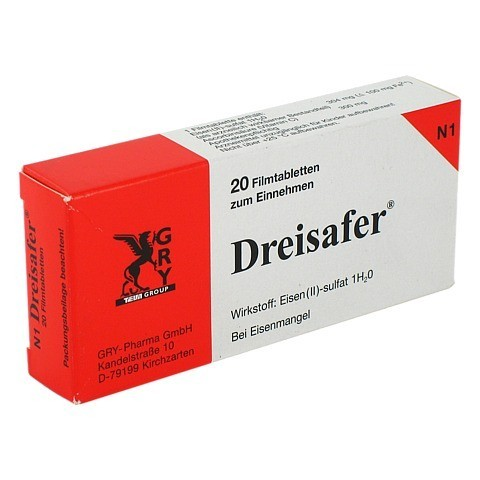 Dreisafer 100mg 20 St�ck N1