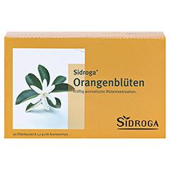 SIDROGA Orangenblütentee Filterbeutel 20 Stück - Vorderseite