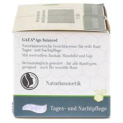 GAEA Age Balanced Gesichtscreme 50 Milliliter - Rechte Seite