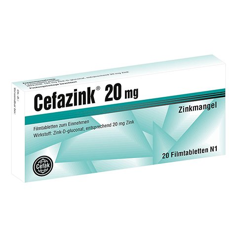 Cefazink 20mg 20 St�ck N1