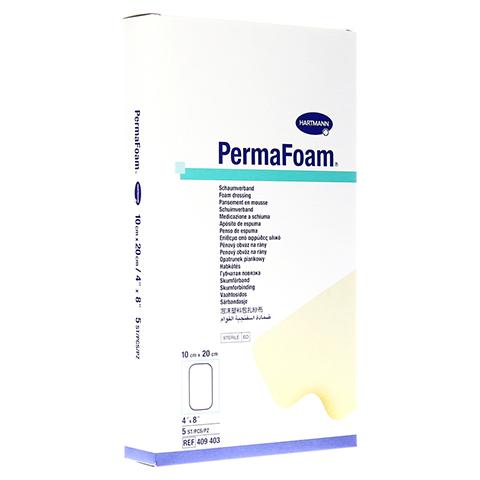 PERMAFOAM Schaumverband 10x20 cm 5 Stück
