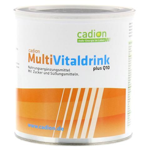 CADION Multivitaldrink+Q10 Pulver Dose 400 Gramm