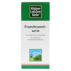 Allgäuer Latschenkiefer Franzbranntwein 1000 Milliliter - Vorderseite
