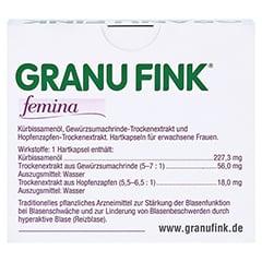 GRANU FINK femina 60 St�ck - R�ckseite