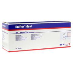 UNIFLEX ideal Binden 8 cmx5 m weiß lose 10 Stück