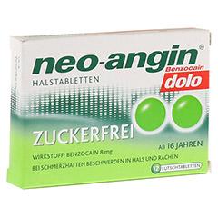 Neo-angin Benzocain dolo Halstabletten zuckerfrei 12 Stück