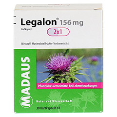 Legalon Madaus 156mg 30 Stück N1 - Vorderseite