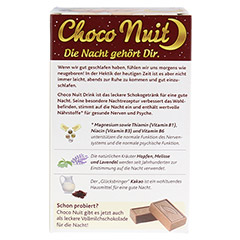 Choco Nuit Drink 10 St�ck - R�ckseite