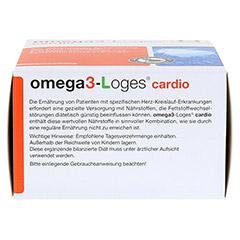 OMEGA 3-Loges cardio Kapseln 120 Stück - Unterseite