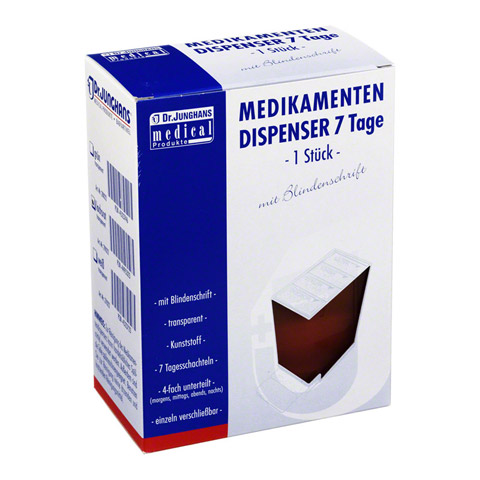 MEDIKAMENTENDISPENSER 7 Tage lachs 1 St�ck