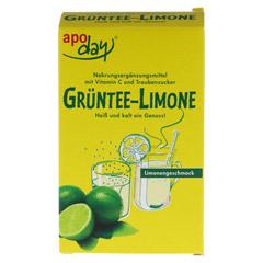 APODAY Limone Vitamin C+Grüntee-Extrakt Pulver 10x10 Gramm - Vorderseite
