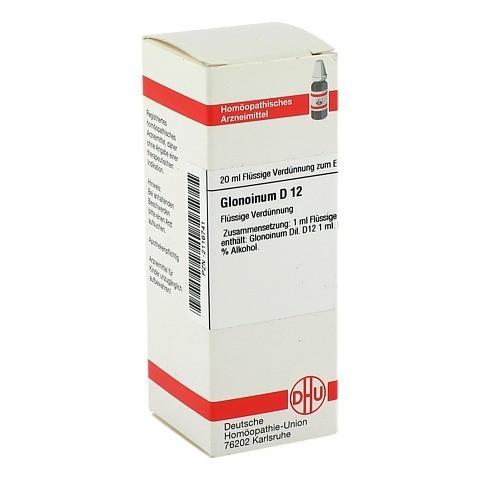 GLONOINUM D 12 Dilution 20 Milliliter N1